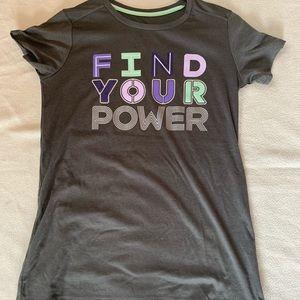 Woman's workout shirt